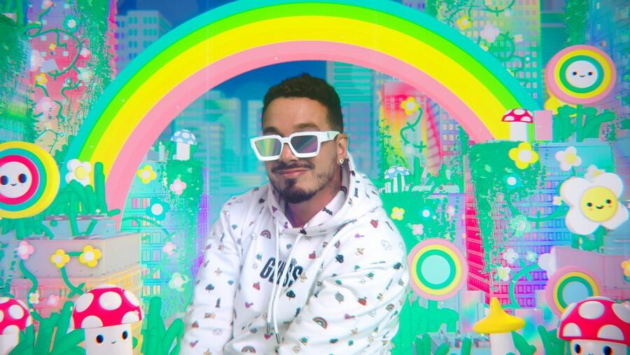 J Balvin Is Back With Guess For New FriendsWithYou Collaboration