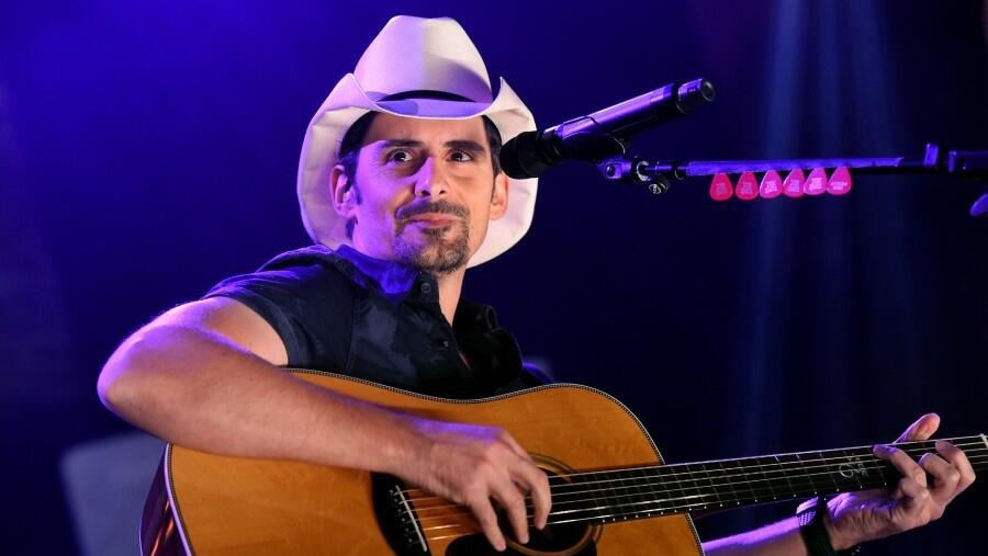 Brad Paisley Recalls Performing Surgery On His Son's Fish: 'He Made It'