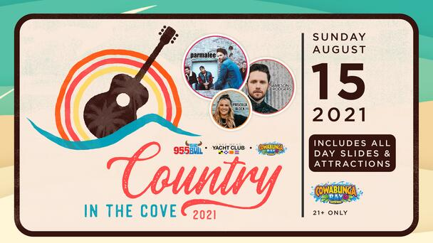 95.5 The Bull's Country In The Cove Is Back! Ticket Info Here!