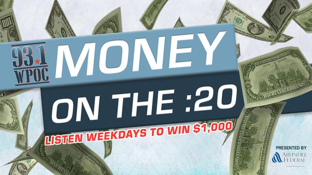 Enter The Keyword Here to Win $1,000 in Money on the :20!