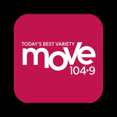 Move 104.9 logo