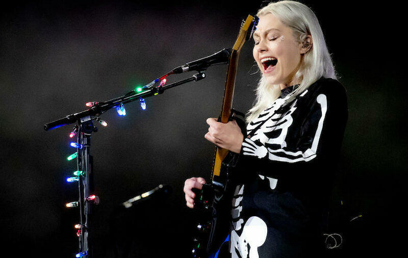Phoebe Bridgers Reacts After Smashed 'SNL' Guitar Sells For $100K