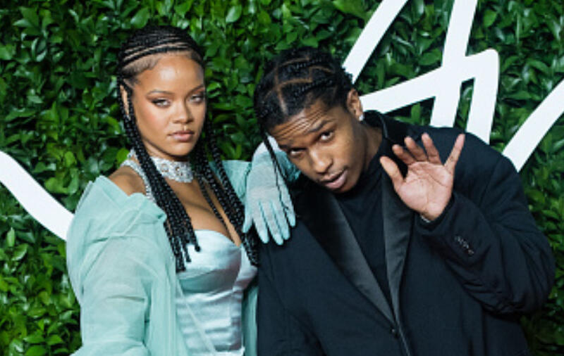 Rihanna Brings New BF A$AP Rocky To Ex Drake's Party