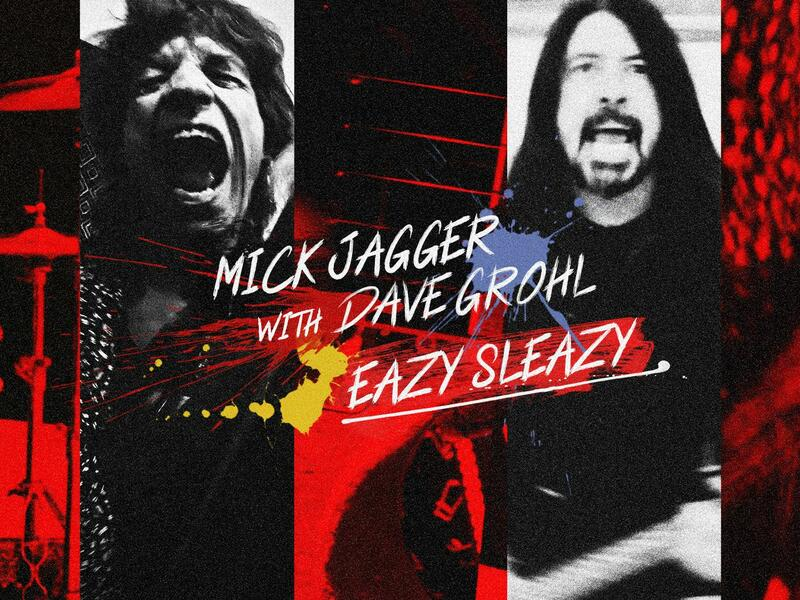 Mick Jagger, Dave Grohl Team Up On Timely New Song 'Eazy Sleazy'