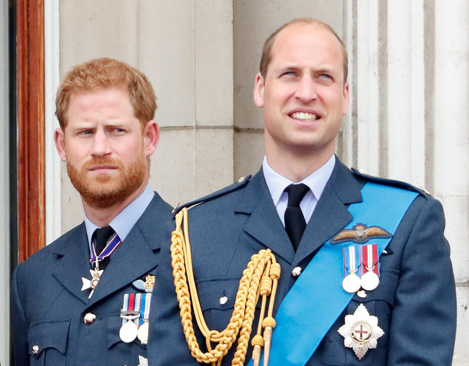 Royals Hope William & Harry Can 'Bond' Before Prince Philip's Funeral