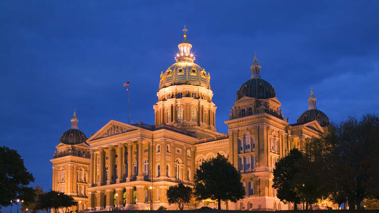 Do you support the Back the Blue Bill that passed the Iowa House yesterday?