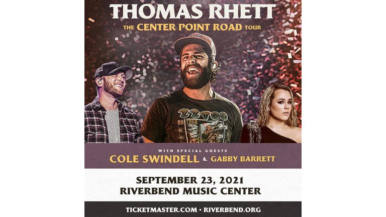 Thomas Rhett At Riverbend Music Center 9 23 2021 97 5 Wamz