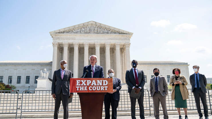 Democrats Look To Expand The Supreme Court With Four New Liberal Justices