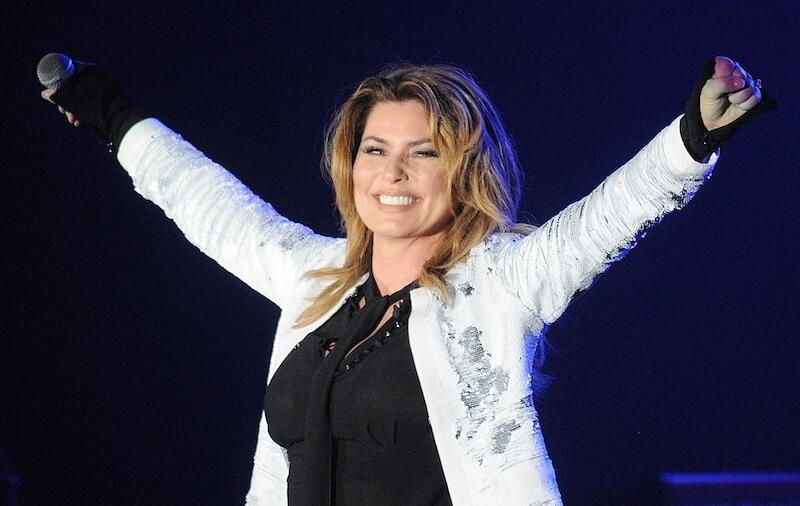 Shania Twain Rewears 'Man! I Feel Like A Woman!' Dress, 20 Years Later