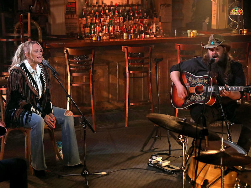 Chris Stapleton & Miranda Lambert Team Up For 'Maggie's Song' Performance