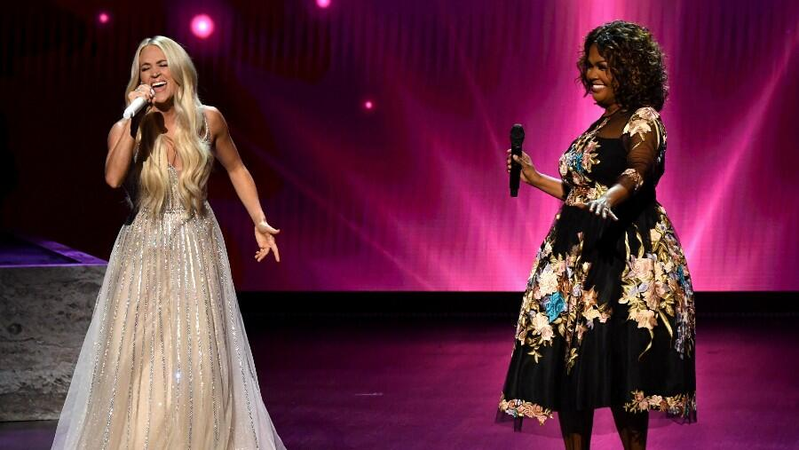 Carrie Underwood Recruits CeCe Winans For 'My Savior' Medley At ACM Awards