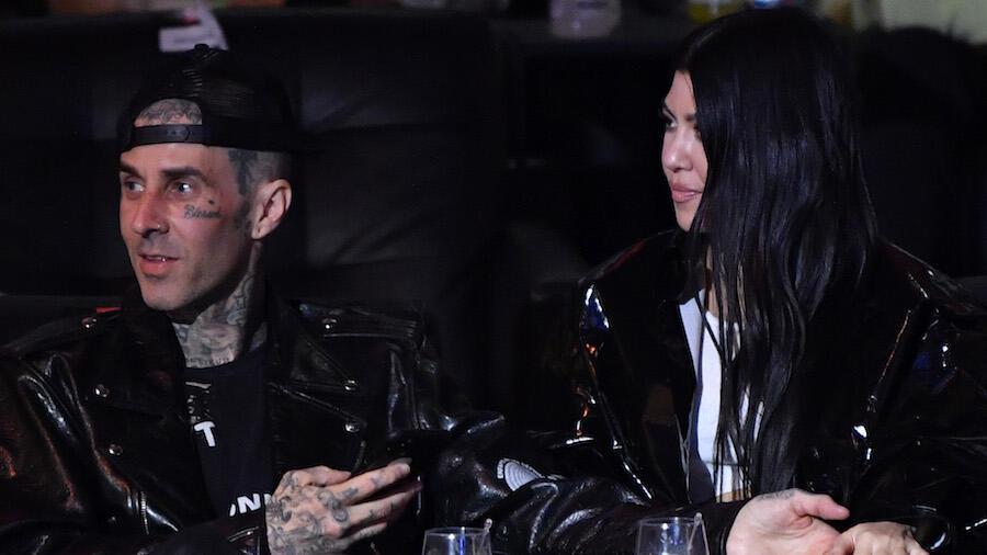 Kourtney Kardashian Has NSFW Reaction To Travis Barker's Birthday Tribute