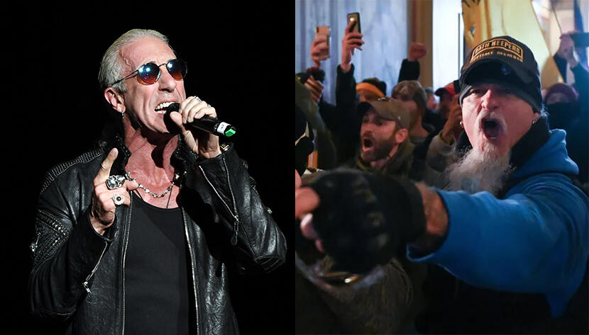 Dee Snider Says Iced Earth's Jon Schaffer Is A 'Terrorist' For Capitol Riot