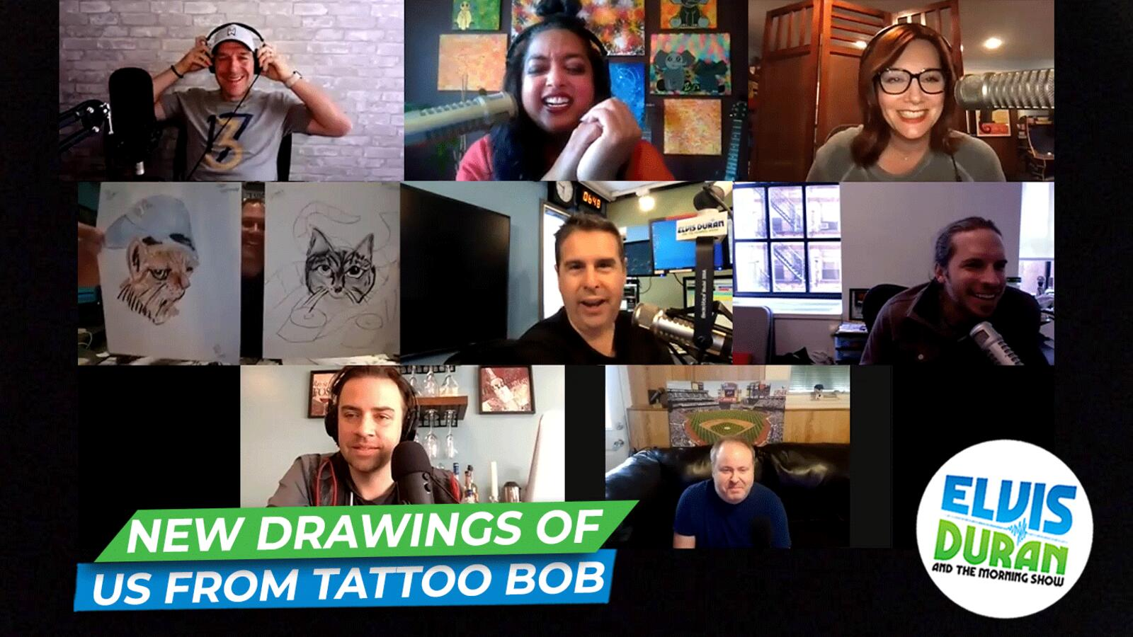 New Drawings Of Us From Tattoo Bob