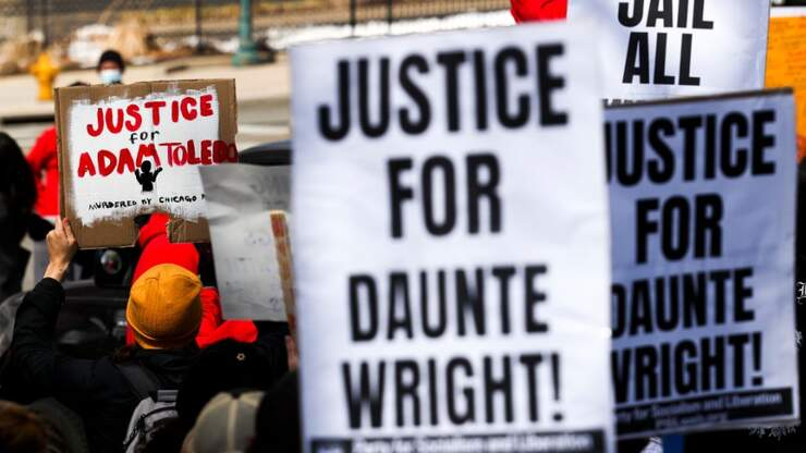 Daunte Wright, Adam Toledo Memorial Taken Down By Police: Report