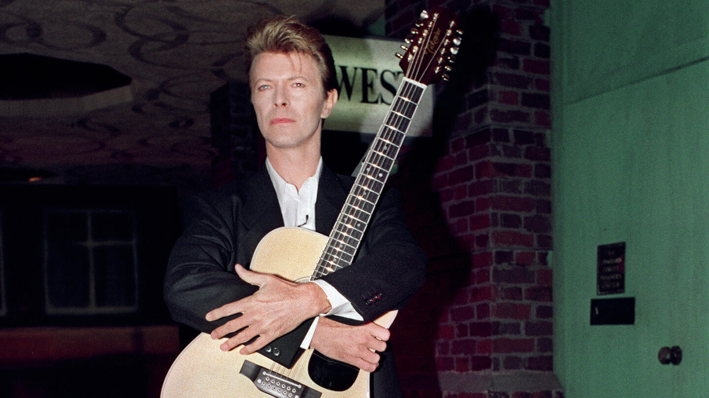 David Bowie's 'Major Tom' Acoustic Guitar Headed To Auction