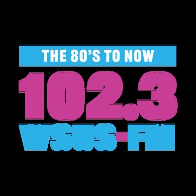 102.3 WSUS logo