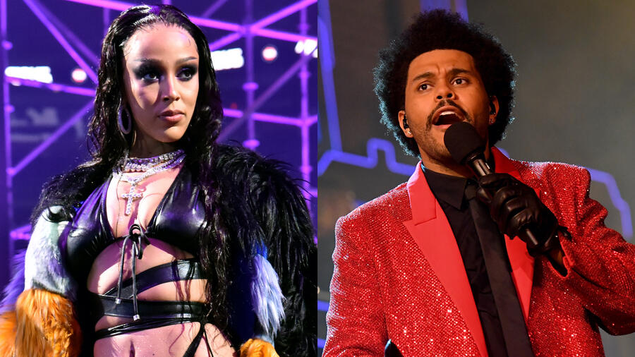 Doja Cat Confirms The Weeknd Collab As Next Single From 'Planet Her'