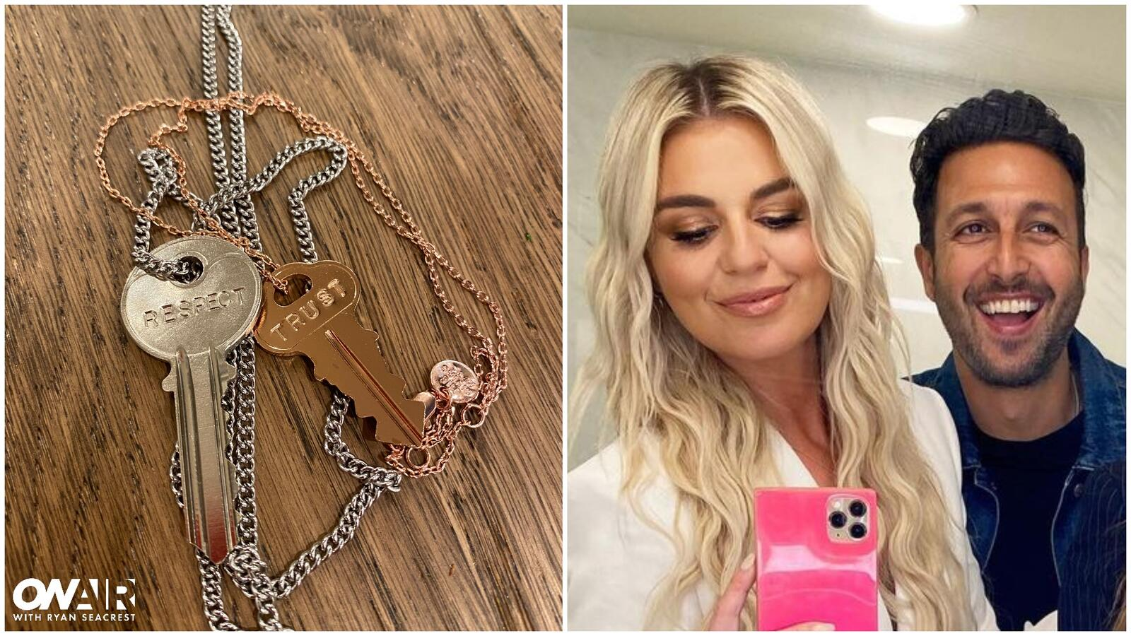 Tanya Rad Gave Her Boyfriend a Matching Key Necklace