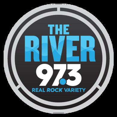 The River 97.3 logo