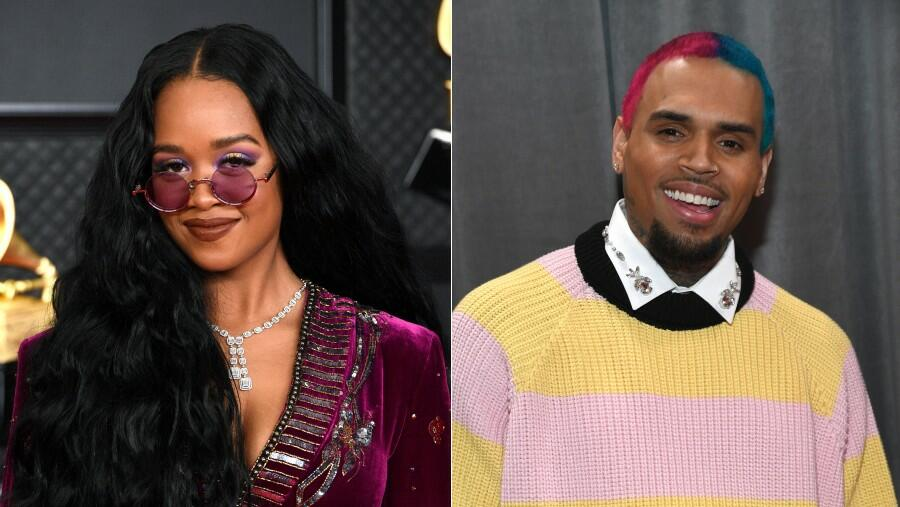 H.E.R. & Chris Brown Collide On Sultry Collaboration 'Come Through'