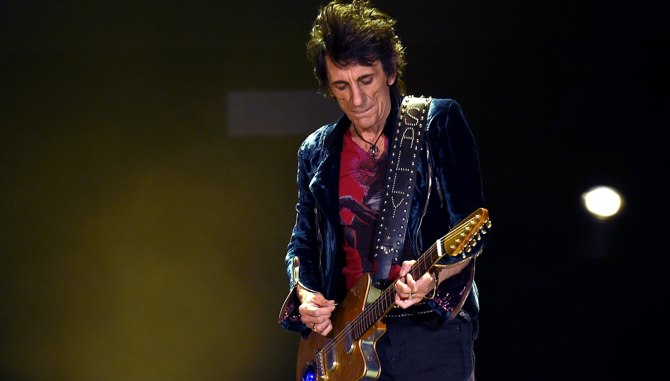 Rolling Stones' Guitarist Ronnie Wood Survived Cancer Again Last Year