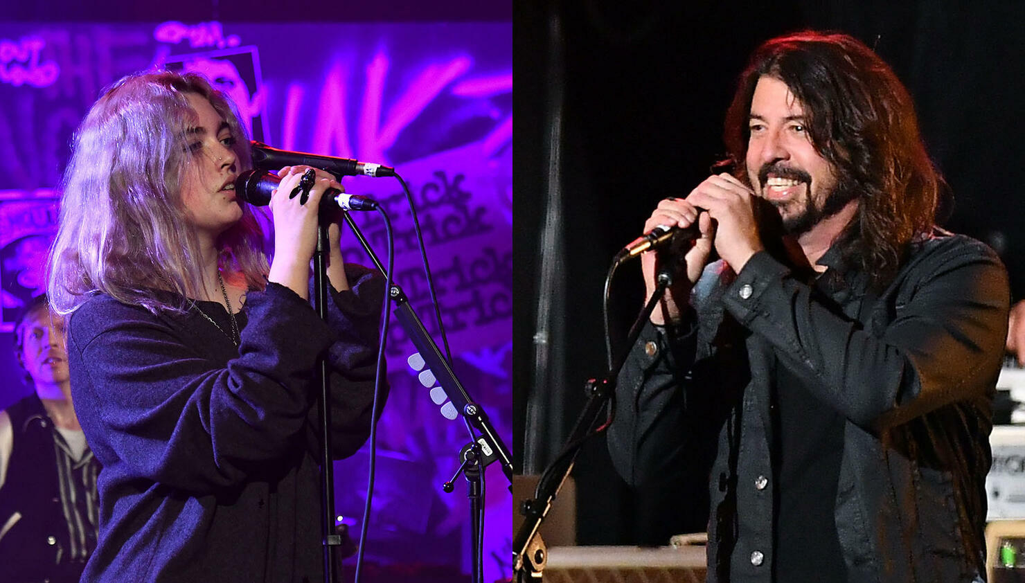Dave Grohl & His Daughter Violet Make Live Debut Of 'Nausea' Collab