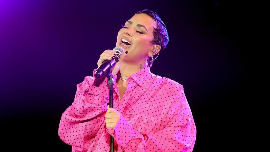 Demi Lovato Teams Up With Lyft To Help People Get COVID-19 Vaccines