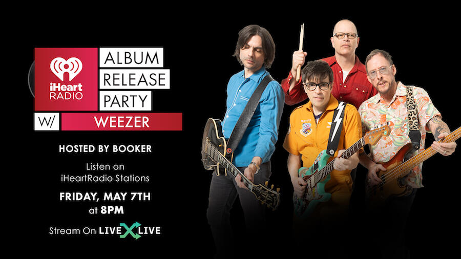 Weezer To Celebrate 'Van Weezer' During Album Release Party: How to Watch