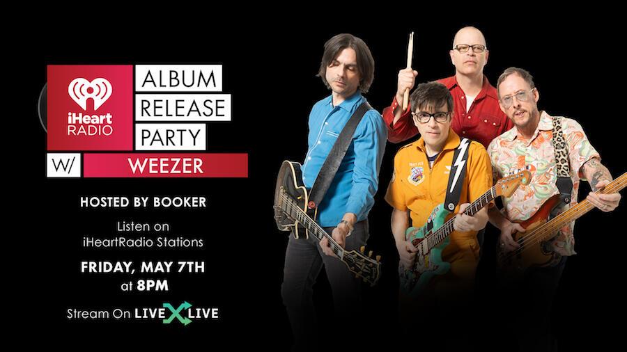 Weezer To Celebrate 'Van Weezer' During Album Release Party: How to Watch