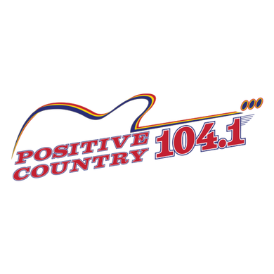 Positive Country 104.1 logo
