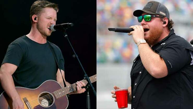 The Totally Random Story Behind Jameson Rodgers' Duet With Luke Combs