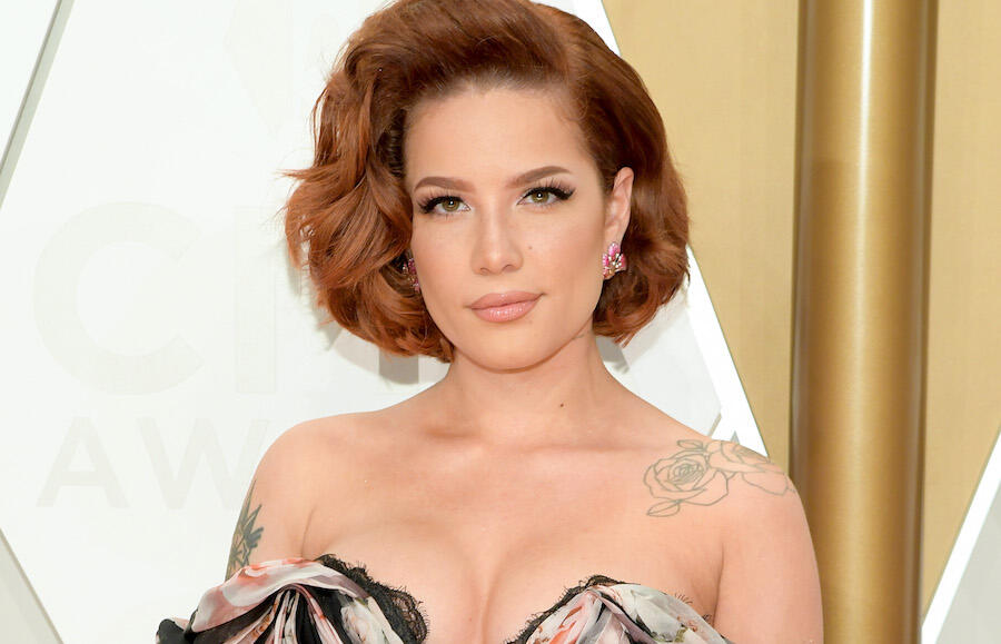 Halsey Is Glowing While Cradling Baby Bump In Sweet New Sunny Photos