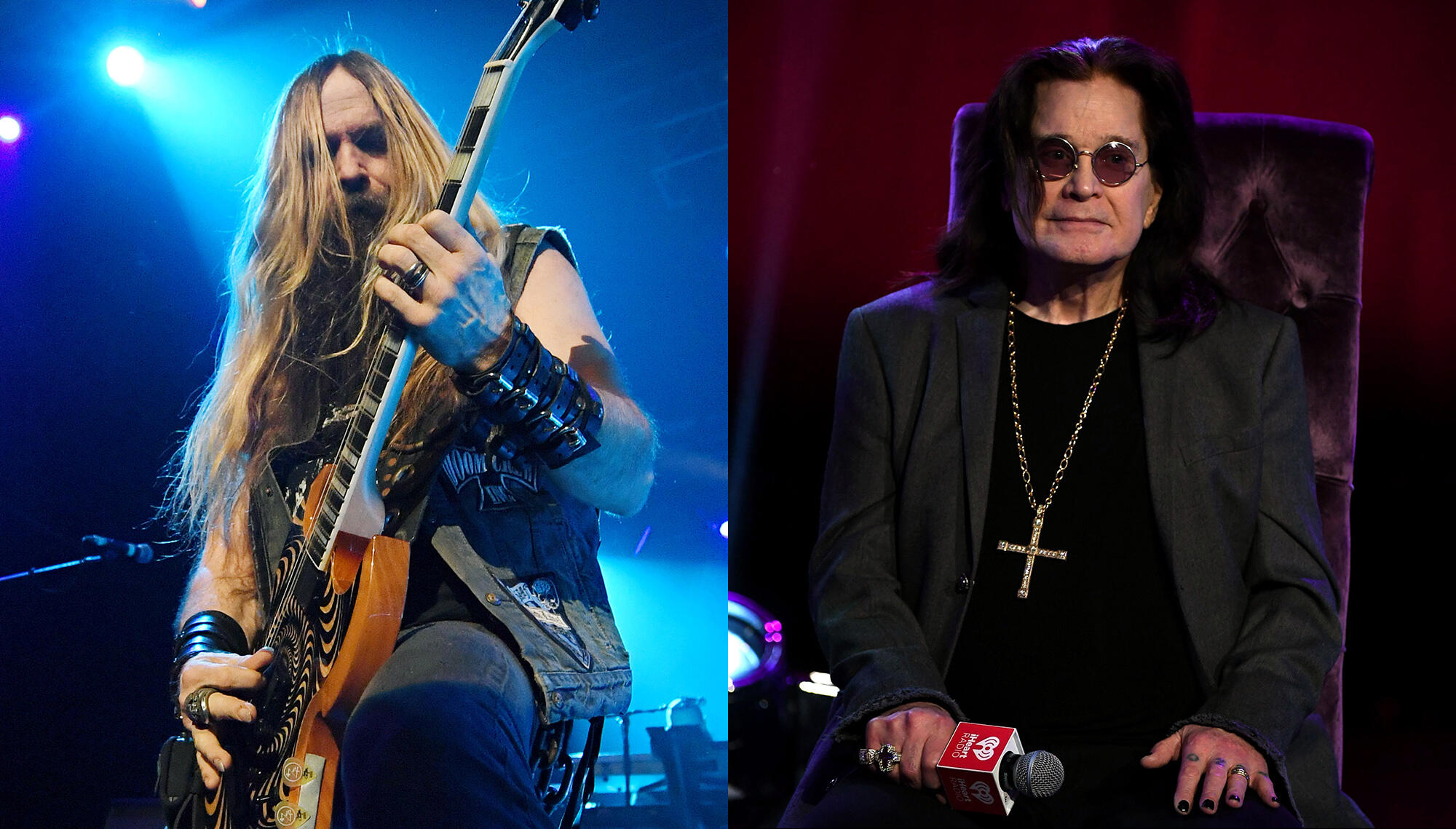 Zakk Wylde Is Not Involved In Ozzy's New Album But Says They Are 'All Good' | iHeartRadio