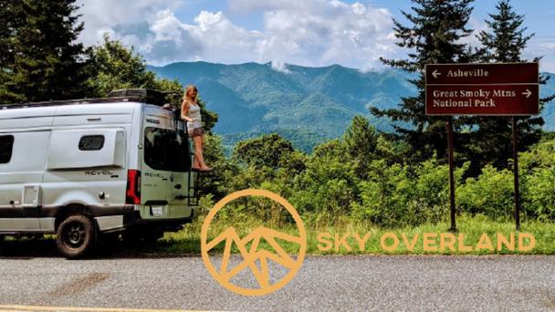 Win a 3-day luxury van rental from Sky Overland!