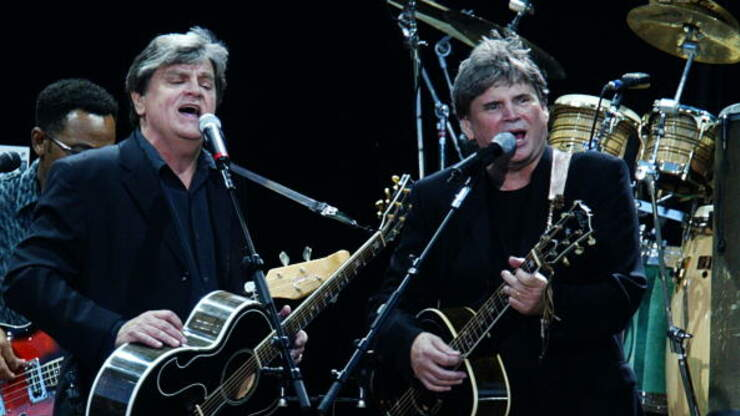 Everly Brothers decades long dispute finally settled   Big ...