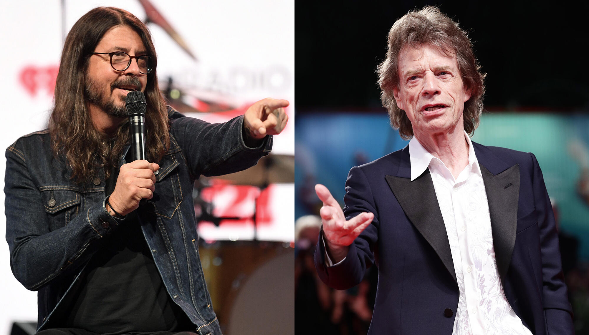Dave Grohl Says Mick Jagger Texted Him Out Of Nowhere For 'Eazy Sleazy'