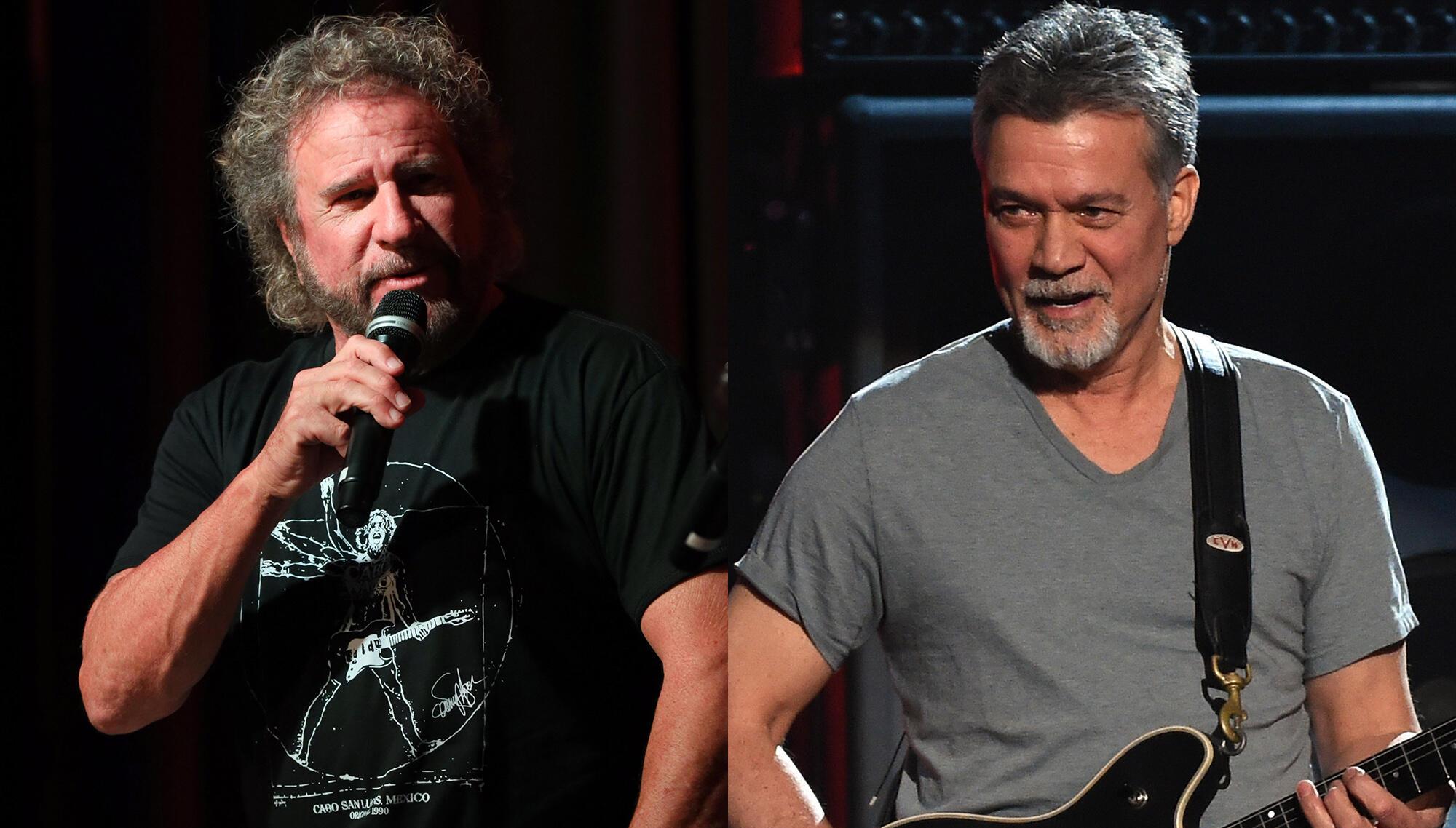 Sammy Hagar Details How He Finally Reconciled With Eddie Van Halen