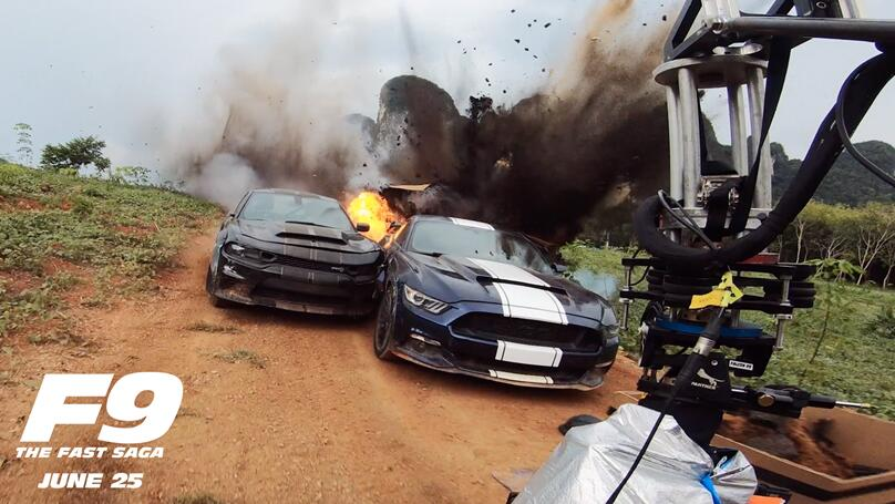 ¡IMPRESIONANTE! Así se filmó  'F9 The Fast Saga' (VIDEO)