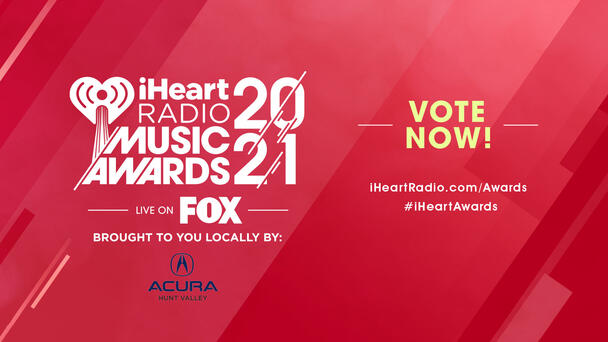 Our iHeartRadio Music Awards pres. locally by Acura Hunt Valley are May 27!