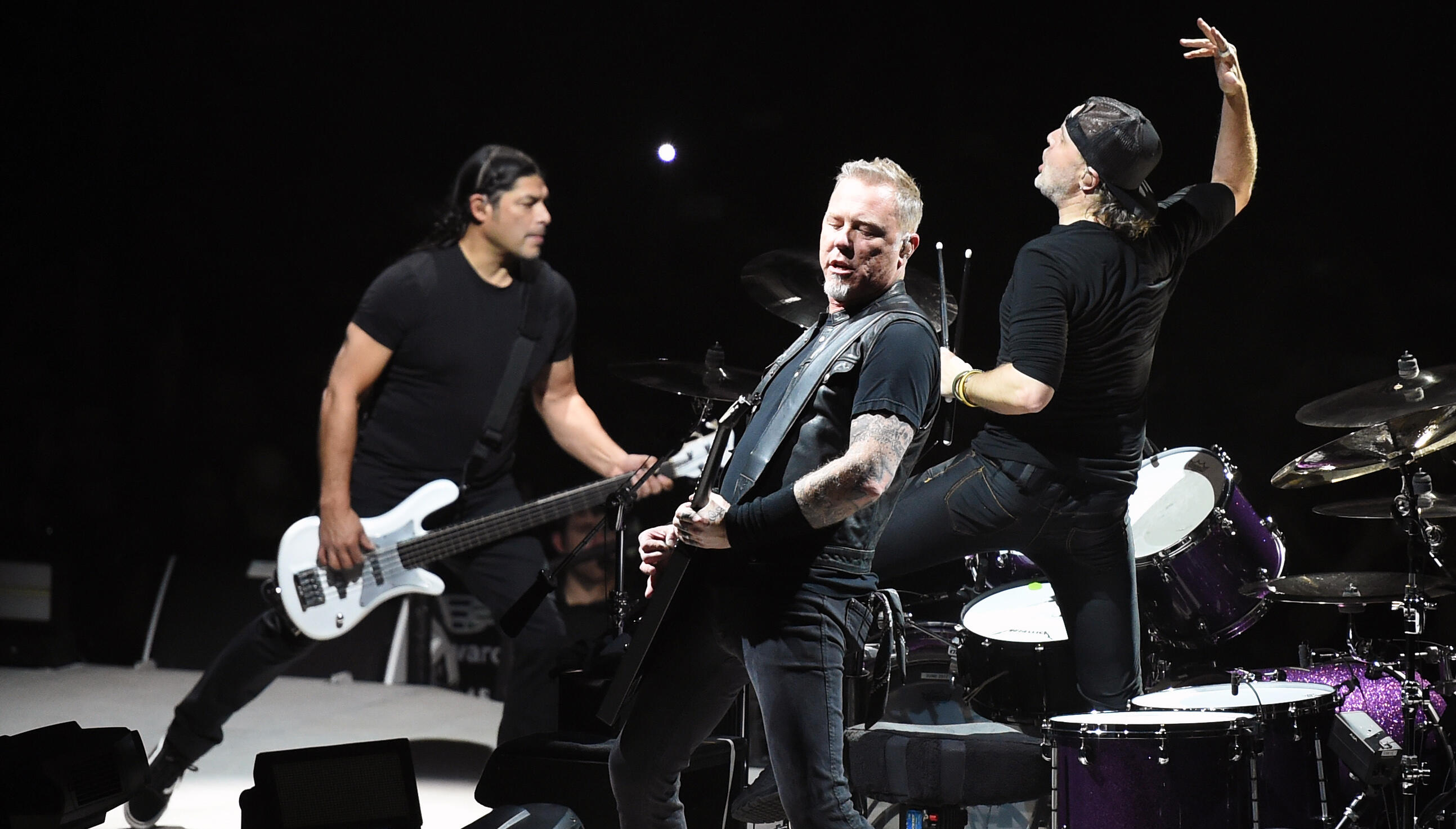Metallica Is About 10 Songs Into Writing Its Next Album