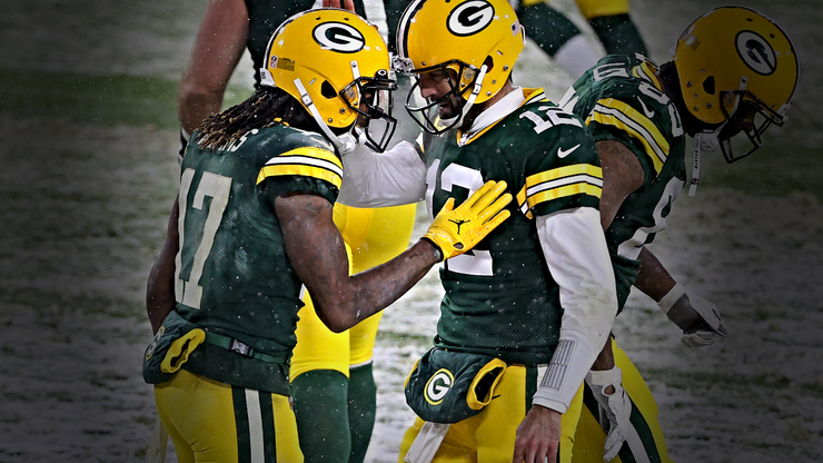 Davante Adams Opens Up About the News of Aaron Rodgers' Trade Rumors