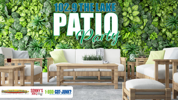 102.9 The Lake Patio Party! Win a Backyard Makeover from Fun Outdoor Living!