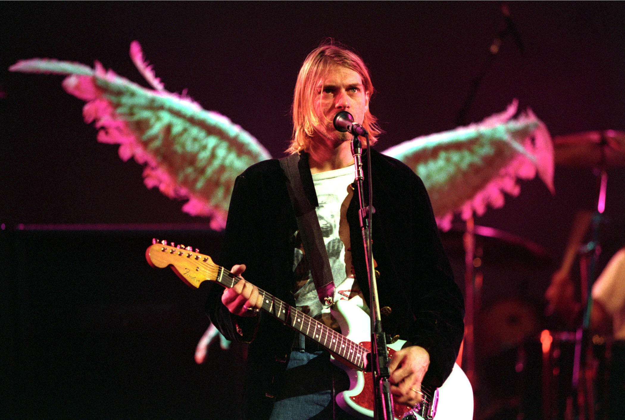 Kurt Cobain's Hair For Sale Alongside Stage-Used Nirvana Cab, Signed Guitar