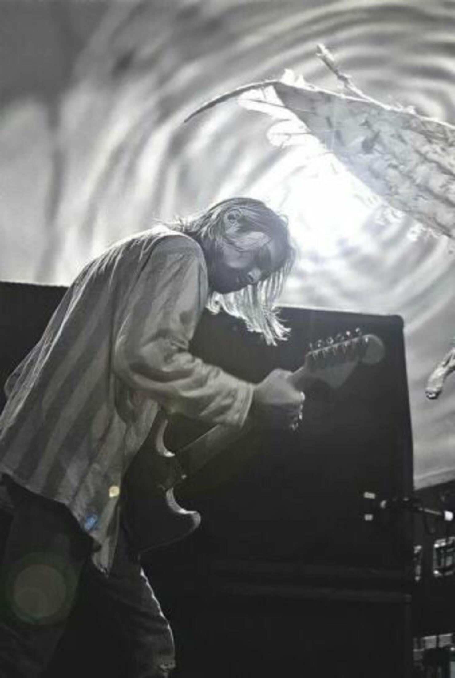 Nirvana-signed guitar