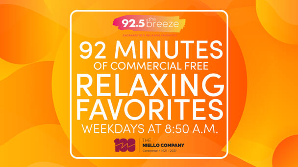 92 Minutes of Relaxing Favorites