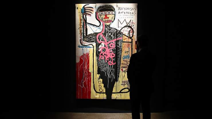 Basquiat, Other Artists Of Color Led In Sales During Live Auction