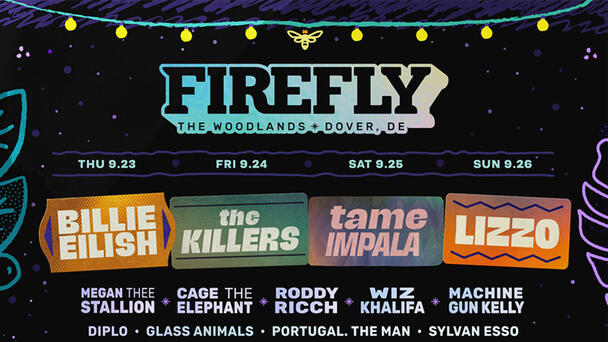 Win tickets to Firefly Music Festival!