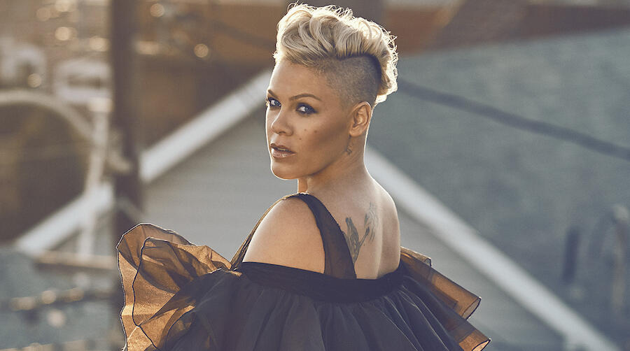 Pink Reveals How She Finds Balance While On Tour With Her Kids & Family