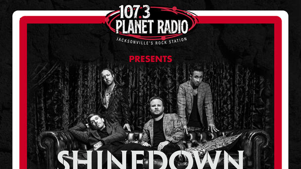 107.3 PLANET RADIO Presents Shinedown in Concert at the The St. Augustine Amphitheatre